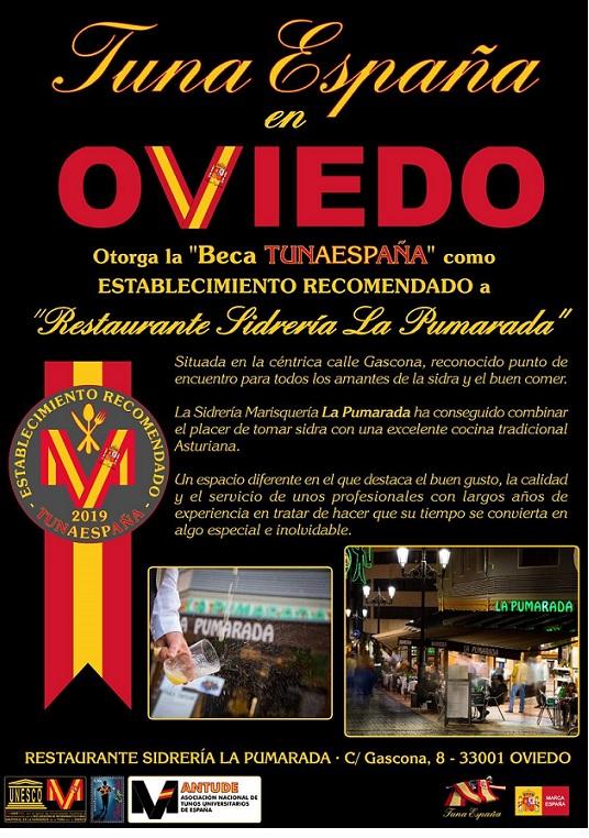 juntamento-tunaespaña-oviedo-Sidreria Pumarda-don-dudo-carlos-espinosa-celdran-