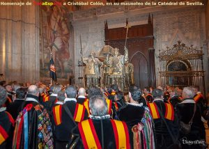 TunaEspaña,Homenaje de TunaEspaña a CRISTÓBAL COLÓN, CATEDRAL de SEVILLA. 3