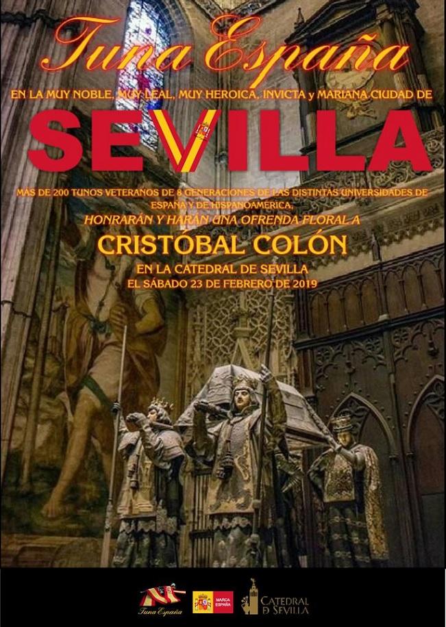 TunaEspaña,Sevilla, Catedral Sevilla, Cristobal Colon,Carlos Espinosa Celdran, Don Dudo,