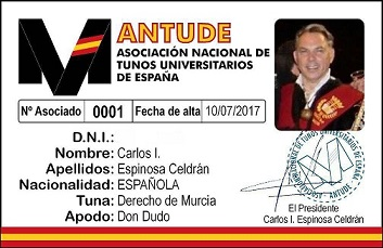 0119TunaEspaña,Carlos-I.-Espinosa-Celdran-DonDudo-Don-Dudo-TunaEspaña-Tuna-España-Presidente-Fundador,2