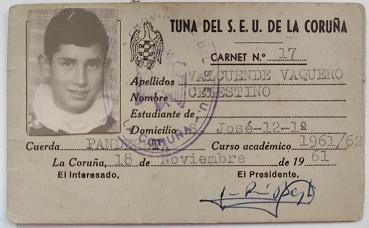 TunaEspaña, Padre de Don oso, Tuna SEU la Coruña 1961