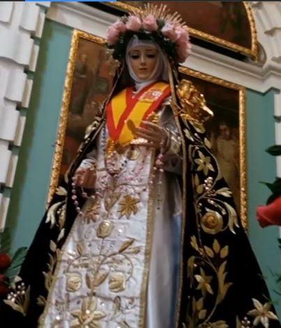 Santa Rosa de Lima Patrona de TunaEspaña