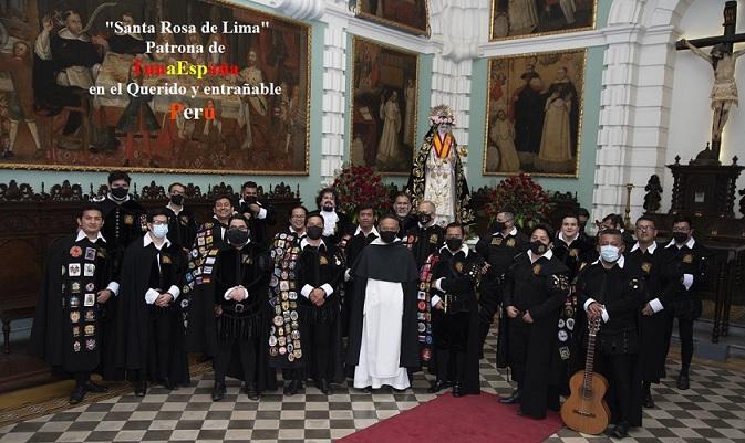 Santa Rosa de Lima, TunaEspaña, DonDudo, Carlos Espinosa celdran